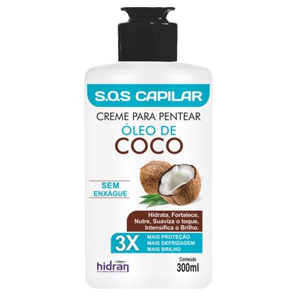 Creme de Pentear Óleo de Coco - 300 ml