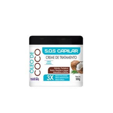 Creme de Tratamento Óleo de Coco - 500g
