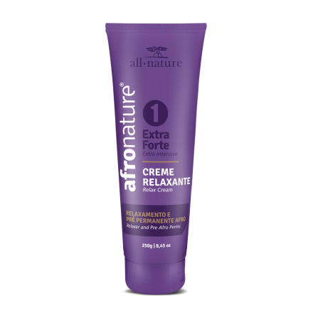 Creme Relaxante Extra Forte N 1 Afro