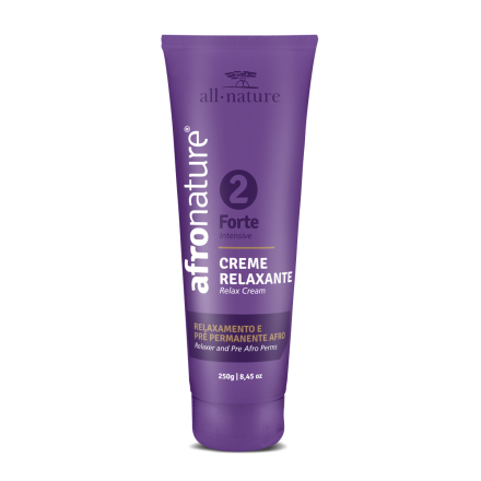 Creme Relaxante Forte Nº2 Afro Nature