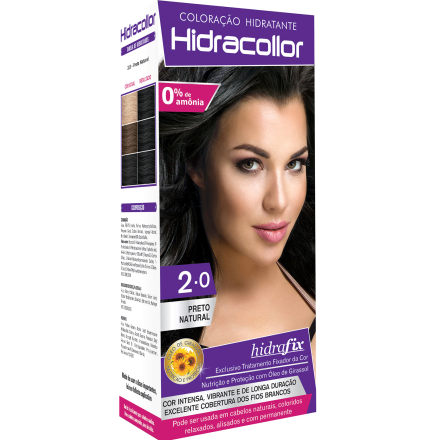 Hidracollor Preto Natural 2.0