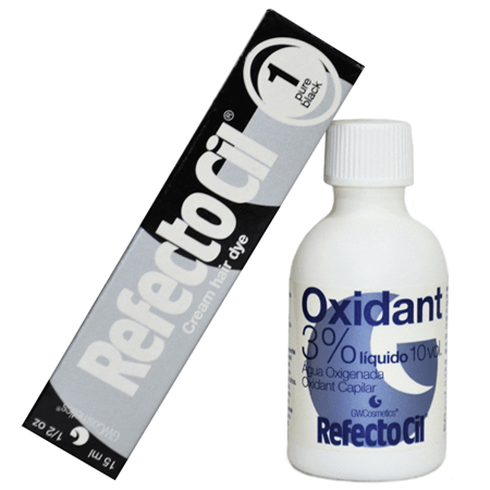 Kit Refectocil Preto 1.0 - 50ml