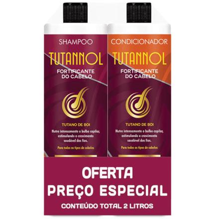 Kit Tutannol Shampoo + Condicionador 2L
