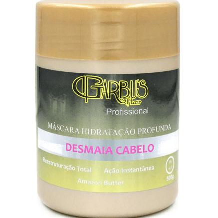 Máscara Desmaia Cabelo 500g Garbu's Hair