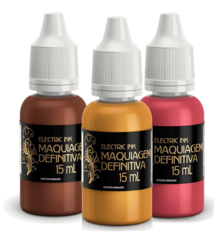 Pigmento Electric Ink kit 3 cores 15ml