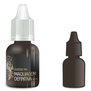 Pigmento Electric Ink Marrom Cacau 8ml
