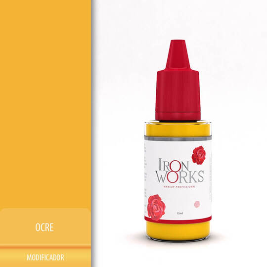 Pigmento Iron Works Ocre 15ml
