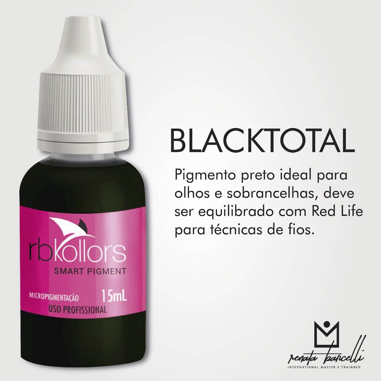PIGMENTO RB KOLLORS BLACK TOTAL