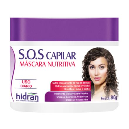 S.O.S Capilar - Máscara Nutritiva